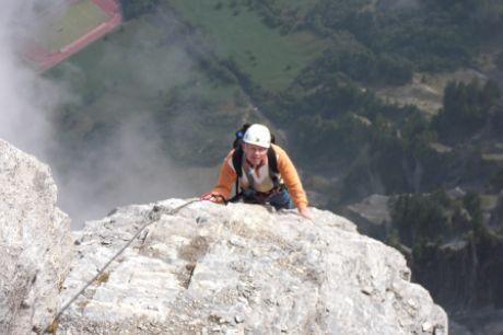 Klettersteig Leukerbad : Photo g bild von klettersteig gemmi daubenhorn leukerbad